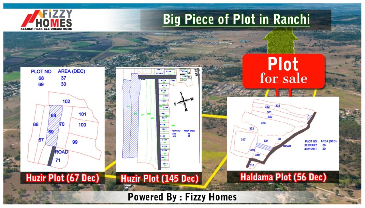 Big Plot Available for Sale in Ranchi, Jharkhand